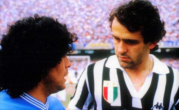 Platini e Maradona